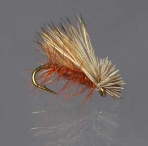 Elk-hair-caddis-(brown)