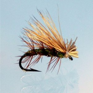 Elk hair caddis olive