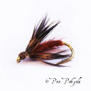Caddis Pupa Brown