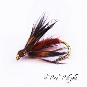 Caddis Pupa Brown
