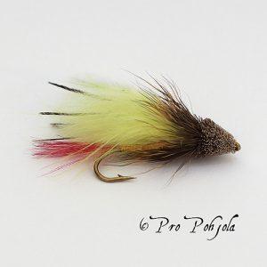 Muddles marabou keltainen