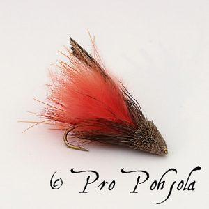 Muddler marabou oranssi