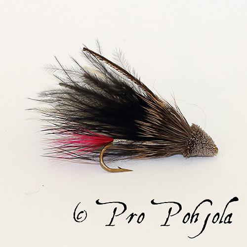 Muddler marabou musta