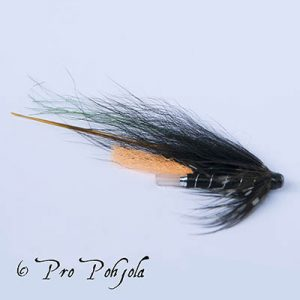 PU Black and green trout