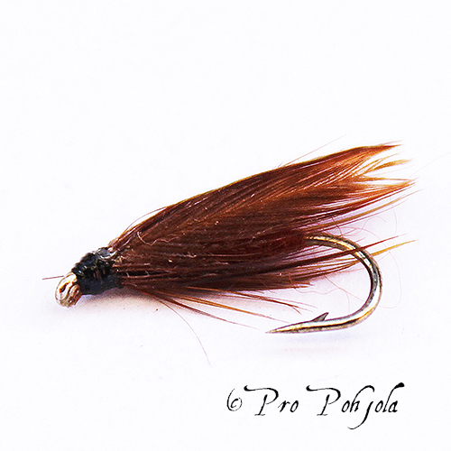 Slow water brown