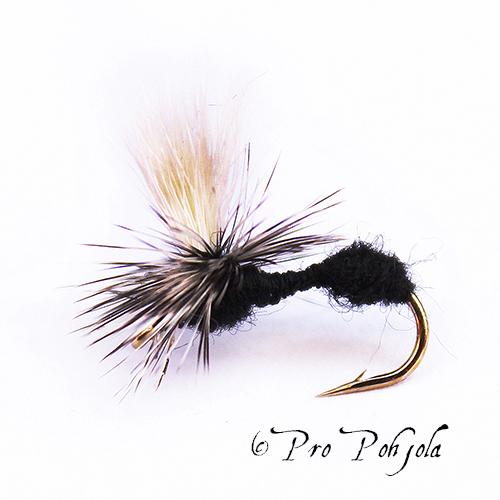 Black ant parachute