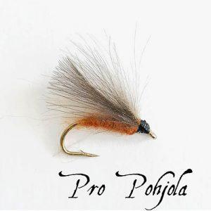 F Fly Caddis Brown (030)