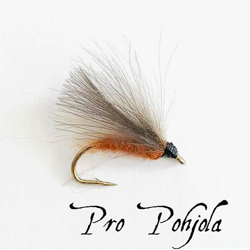 F Fly Caddis Brown (030)