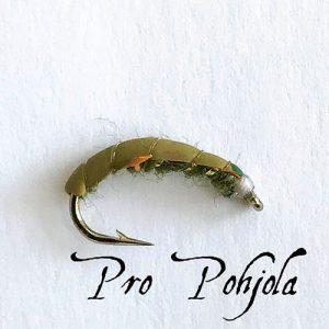 Sm Czech Nymph Olive (039)