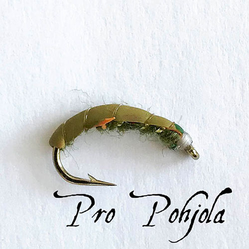 Sm Czech Nymph Olive (039)